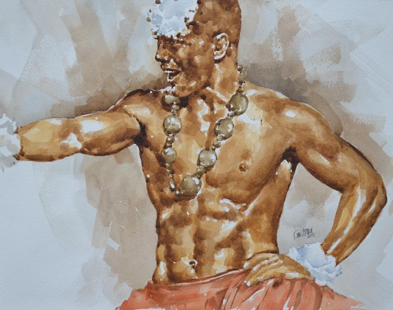 Polynesian Dancer 2